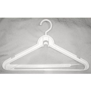 Vintage Storage & Organization - 7 Vintage Heavyweight Cascading Suit/Coat Hangers